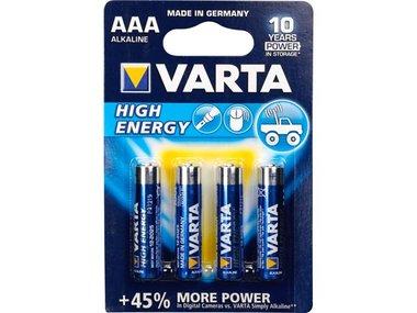 HIGH-ENERGY ALKALINE AAA / LR03 1.5V-1100mAh 4903.121.414 (4st/bl) (LR03)