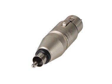 3-POLIGE XLR VROUWELIJK NAAR RCA/PHONO MANNELIJK (NA2FPMM)