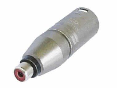 3-PIN XLR MANNELIJK NAAR RCA/PHONO VROUWELIJK (NA2MPMF)