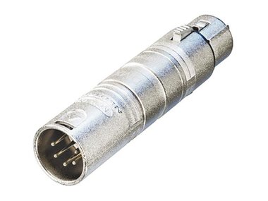 3-PIN XLR VROUWELIJK NAAR 5-PIN XLR MANNELIJK (NA3F5M)