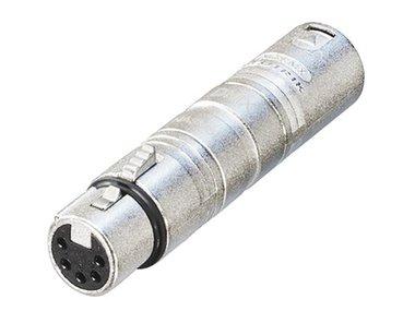 3-PIN XLR MANNELIJK NAAR 5-PIN XLR VROUWELIJK (NA3M5F)