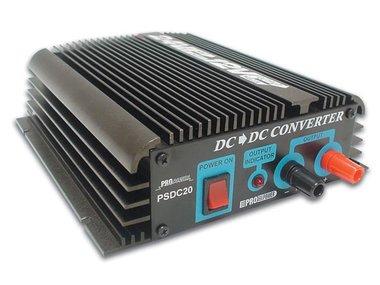 20A SPANNINGSOMVORMER 24VDC NAAR 12VDC (PSDC20)