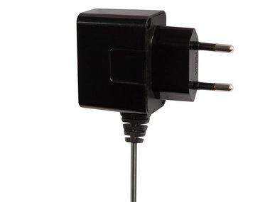 COMPACTE LADER MET MICRO-USB-AANSLUITING 5 V - 1 A MAX. - ZWART (PSSEUSB22B)