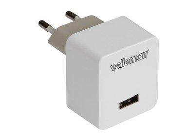 LADER MET USB-AANSLUITING 5 V - 2.4 A (PSSEUSB32)