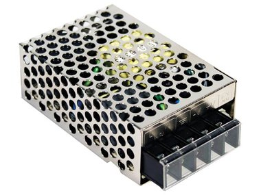 SWITCHING POWER SUPPLY - SINGLE OUTPUT - 25 W - 5 V (RS-25-5)