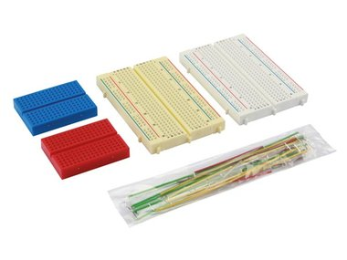 SET MET MINI BREADBOARDS EN DRAADBRUGGEN (SD09N)