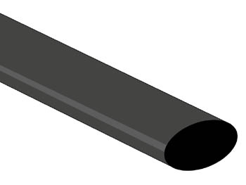 THERMISCHE KRIMPKOUS 2:1 - 12.7mm - ZWART (ST127BKL)