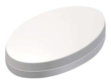 PLASTIC HANDHELD ENCLOSURE - OVOTEK WHITE 165.3 x 103.2 x 38.5mm (TKOK17)