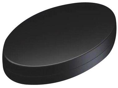 PLASTIC HANDHELD ENCLOSURE - OVOTEK BLACK 165.3 x 103.2 x 38.5mm (TKOK19)