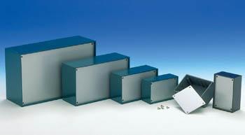 PLASTIC OPTATIVE BEHUIZING - PETROLEUMBLAUW 85.0 x 56.0 x 35.5mm (TKP1B)