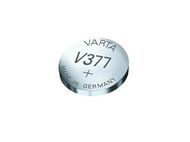 HORLOGEBATTERIJ 1.55V-24mAh SR66 377.801.111 (1st/bl) (V377)