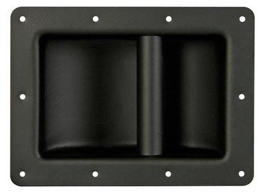 HEAVY-DUTY HANDVAT VOOR LUIDSPREKER, ZWART METAAL, 220 x 160mm (VDAC04)