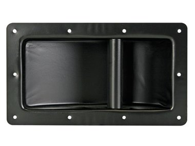 HEAVY-DUTY HANDVAT VOOR LUIDSPREKER, ZWART METAAL, 280 x 160mm (VDAC05)