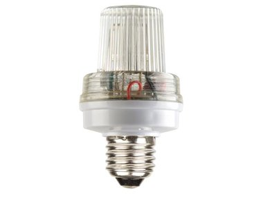 MINI FLITSLAMP WIT, 3.5W, E27 FITING (VDLSLW)