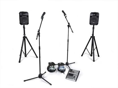 PA-SET AUDIO PERFORMER (VDSPROM12)
