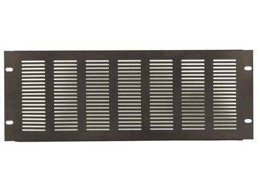 VENTILATIEPANEEL VOOR 19 RACK, 4U, DIKTE 1.2 mm, ZWART (VDVP4)