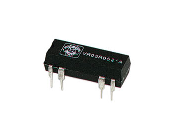 DIL RELAIS 0.5A/10W MAX. 2 x MAAK 12Vdc (VR05R122A)