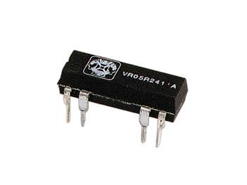 DIL RELAIS 0.5A/10W max. 1 x WISSEL 24Vdc (VR05R241C)