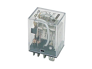 KRACHTIG RELAIS 10A/24VDC-220VAC 2 x WISSEL 240Vac (VR10HD2402C)