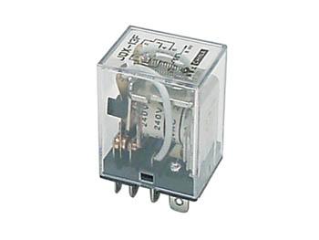 KRACHTIG RELAIS 10A/24VDC-220VAC 2 x WISSEL 24Vdc (VR10HD242C)