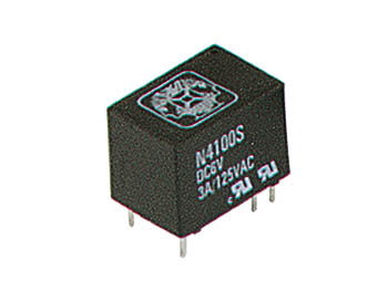 DIL RELAIS 3A/150VAC 1 x WISSEL 6Vdc (VR3D061C6)