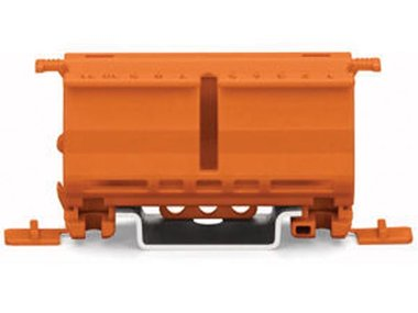 FIXING CARRIER FOR 2- TO 5-POLE COMPACT CONNECTORS, ORANGE (WG222500)