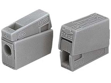 LIGHTING CONNECTOR, 2.5mm, 105°, GREY (WG224101)