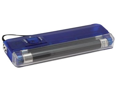 MINI UV LAMP + SPOT / BLAUW (ZLUVBL)