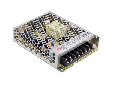 ITE SWITCHING POWER SUPPLY - SINGLE OUTPUT - 100 W - 24 V - CLOSED FRAME - FOR PROFESSIONAL USE ONLY (LRS-100-24)