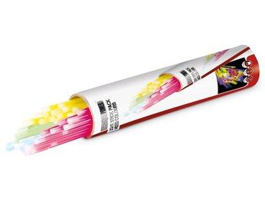 SET LICHTSTAAFJES Ø 0.5 x 20 cm - VERSCHILLENDE KLEUREN (50 st./doos) (HQLS10001)