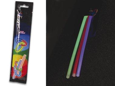 SET LICHTSTAAFJES Ø 0.5 x 20 cm - VERSCHILLENDE KLEUREN (3 st./set) (HQLS10002)
