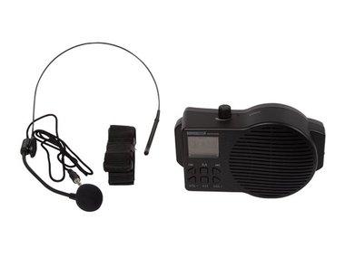 DRAAGBAAR PUBLIC ADDRESS-SYSTEEM MET USB/SD en FM-RADIO (HQPA10002)