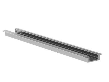RECESSED SLIMLINE 7 mm - ALUMINIUM-INBOUWPROFIEL VOOR LEDSTRIP - ZILVER - 2 m (AL-RSL7-2)