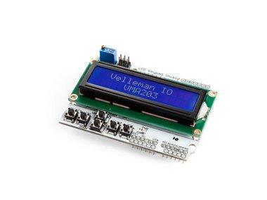 LCD-SHIELD EN TOETSENBORD VOOR ARDUINO® - LCD1602 (VMA203)