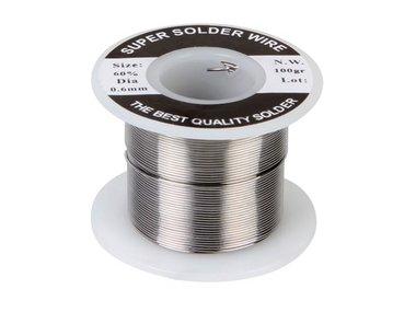 SOLDEER Sn 60% Pb 40% - 0.6 mm 100 g (SOLD100G6)