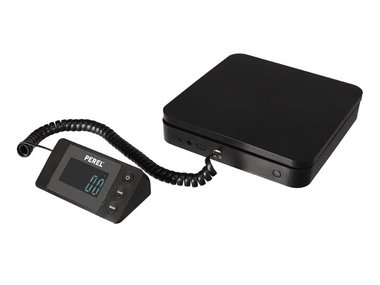 DIGITALE POSTWEEGSCHAAL MET AFNEEMBAAR DISPLAY - 40 kg / 5 g (VTBAL500)