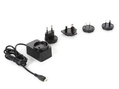 UNIVERSELE LADER MET MICRO-USB-AANSLUITING - 5 V - 2.5 A met 4 reisstekkers (PSSEUSB38BT)