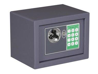 ELEKTRONISCHE KLUIS - 23 x 17 x 17 cm - GRIJS (BG90008)
