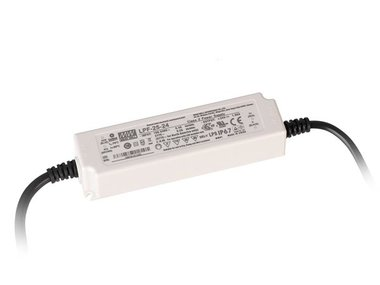 SWITCHING POWER SUPPLY - SINGLE OUTPUT LED DRIVER MIX MODE - 24 V (LPF-25-24)
