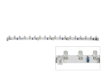 FLEXIBELE LEDMODULE - WIT - 18 LEDS - 30cm - 12VDC (LDB1-HS3018AW)