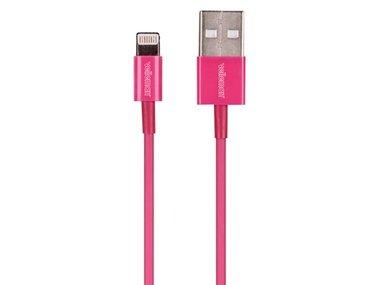 LIGHTNING (8-POLIG, MANNELIJK) NAAR USB A-KABEL - MAGENTA - 1 m (PCMP65M)