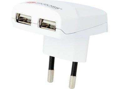 USB-LADER MET EUROSTEKKER - 2.4 A (SKR1302420)