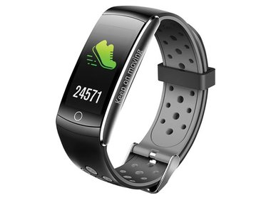 BFH-14 - BLUETOOTH® FITNESS BAND WITH HEART RATE MONITOR & COLOUR DISPLAY (DV-30201)