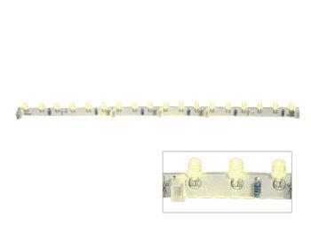FLEXIBELE LEDMODULE - GEEL - 18 LEDS - 30cm - 12VDC (LDB1-HS3018AY)