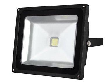 LED-SCHIJNWERPER VOOR BUITENSHUIS - 50 W EPISTAR CHIP - 6500 K (LEDA3005CW-B)