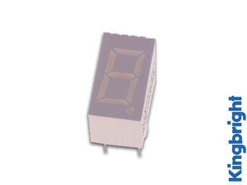 1-DIGIT DISPLAY 9mm GEMEENSCHAPPELIJKE KATHODE HYPERROOD (SC36-11SRWA)