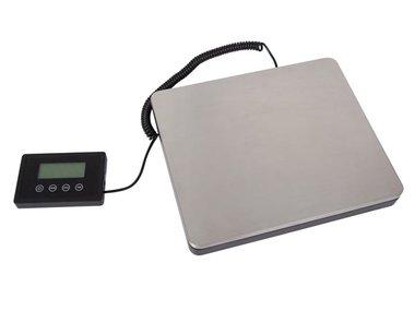 POSTWEEGSCHAAL MET AFNEEMBAAR DISPLAY - 100 kg / 50 g (VTBAL38)