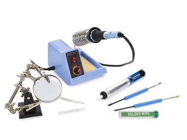 SET MET SOLDEERSTATION MET INSTELBARE TEMPERATUUR - 48 W - 150-480 °C (VTSS4NSET)