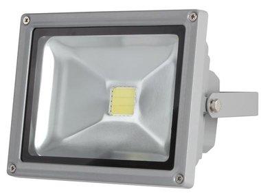LED-SCHIJNWERPER VOOR BUITENSHUIS - 20 W EPISTAR CHIP - 3000 K (LEDA3002WW-G)
