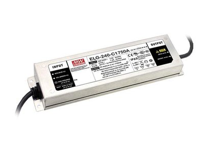 AC-DC-SINGLE-OUTPUT-LED-DRIVER-WITH-PFC---3-WIRE-INPUT---ADJUST-WITH-POTMETER-(ELG-240-24B-3Y)